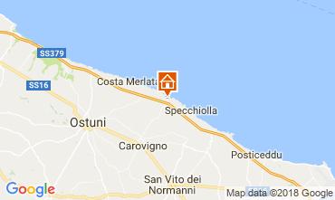 Karte Ostuni Villa 94351
