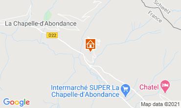 Karte Châtel Chalet 600