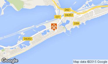 Karte Palavas-les-Flots Appartement 88115