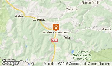 Karte Ax Les Thermes Appartement 58968