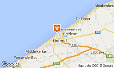 Karte Ostende Appartement 31824
