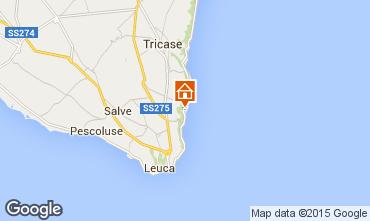 Karte Marina di Novaglie Studio 74731