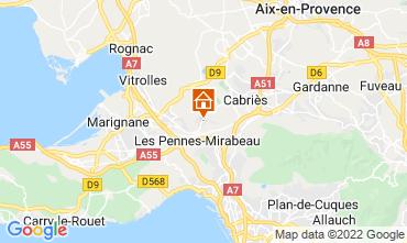 Karte Aix en Provence Haus 87754