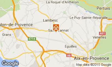 Karte Aix en Provence Villa 88796