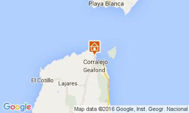 Karte Corralejo Appartement 105526