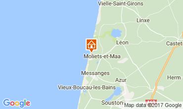 Karte Moliets Haus 110649