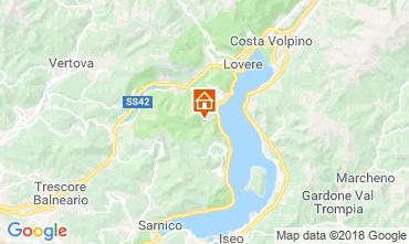Karte Riva di Solto Appartement 113416