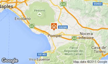 Karte Pompeji Appartement 42011