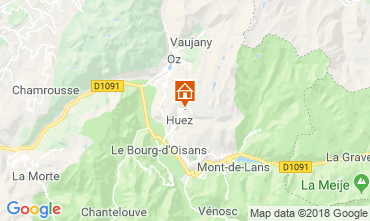 Karte Alpe d'Huez Studio 66809