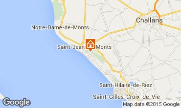 Karte Saint Jean de Monts Haus 101880