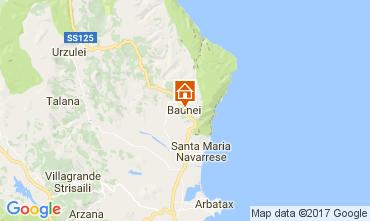 Karte Baunei Appartement 61401