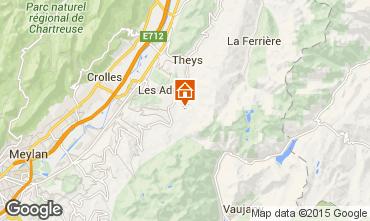 Karte Les Sept Laux Appartement 69719