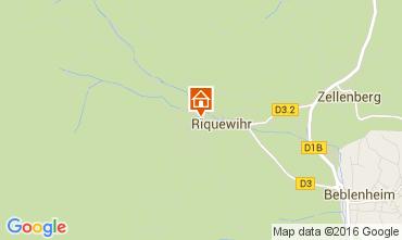 Karte Riquewihr Appartement 103935