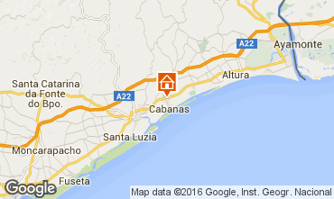 Karte Cabanas de Tavira Appartement 102900