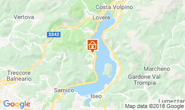 Karte Sarnico Appartement 116784