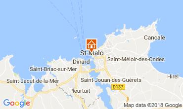 Karte Saint Malo Studio 50940