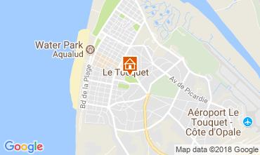 Karte Le Touquet Studio 114481