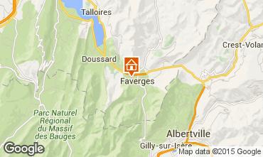 Karte Annecy Bungalow 50758