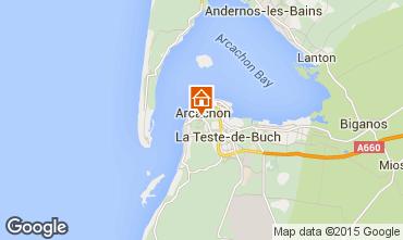 Karte Arcachon Haus 43092