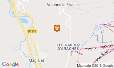 Karte Les Carroz d'Araches Appartement 80329