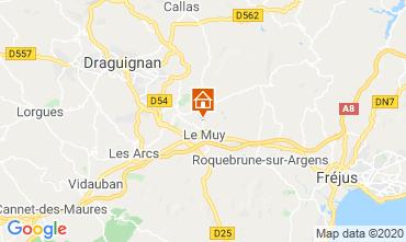 Karte Saint Aygulf Villa 116281