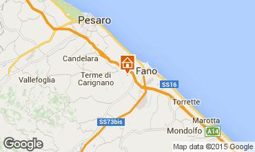 Karte Fano Appartement 84518