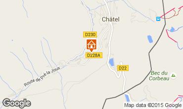 Karte Châtel Chalet 44057