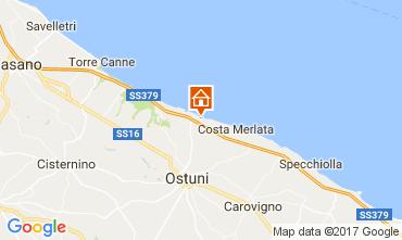 Karte Ostuni Villa 110109