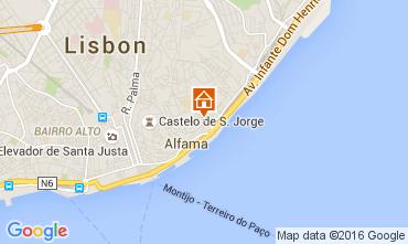 Karte Lissabon Appartement 105149