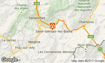 Karte Saint Gervais Mont-Blanc Appartement 2553