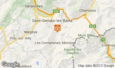 Karte Les Contamines Montjoie Chalet 980