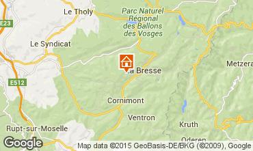 Karte La Bresse Chalet 66776