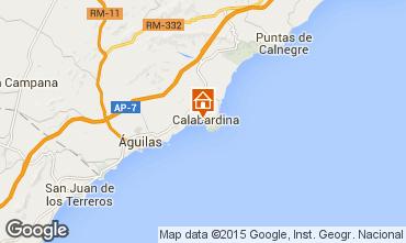 Karte Águilas Appartement 96000