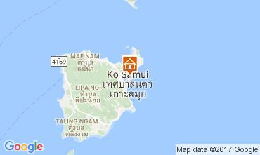 Karte Bo Phut beach Villa 110496