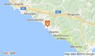 Karte Bonassola Appartement 101305