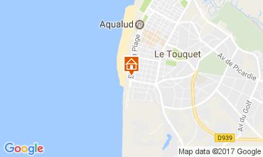 Karte Le Touquet Studio 15973