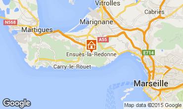 Karte Ensues La redonne Studio 11815