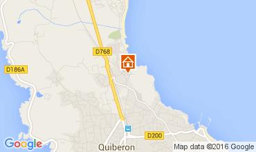 Karte Quiberon Appartement 28761