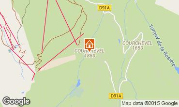 Karte Courchevel Appartement 92511