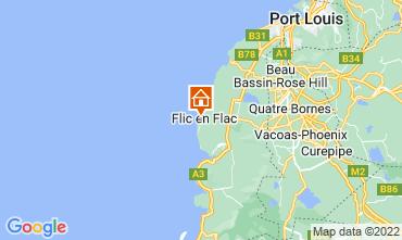Karte Flic-en-Flac Haus 111668