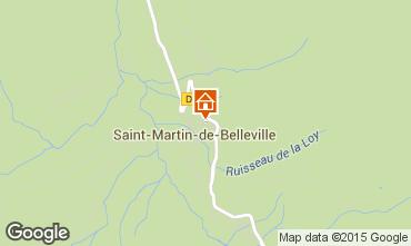 Karte Saint Martin de Belleville Chalet 2650