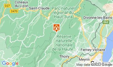 Karte Les Rousses Appartement 3730
