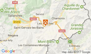 Karte Chamonix Mont-Blanc Appartement 68975