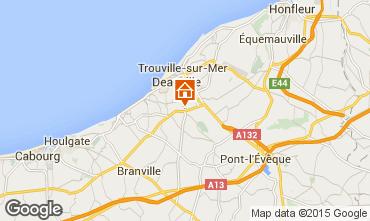 Karte Deauville Mobil-Home 17224