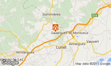 Karte Montpellier Villa 9203