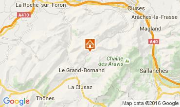 Karte Le Grand Bornand Chalet 106041