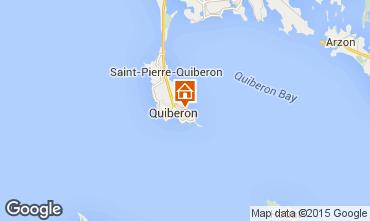 Karte Quiberon Appartement 92008