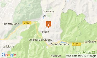 Karte Alpe d'Huez Appartement 111903