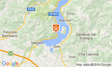 Karte Sarnico Appartement 71519