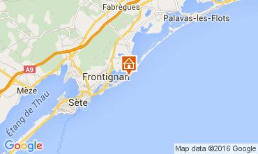 Karte Frontignan Appartement 104867